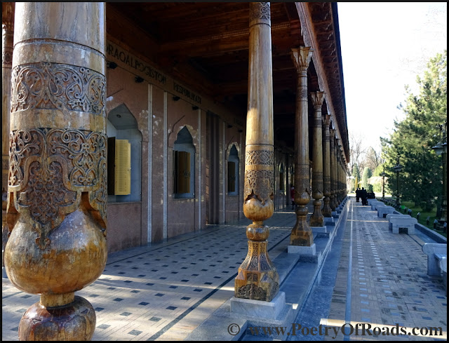 Glimpses of Uzbekistan - exploring Tashkent