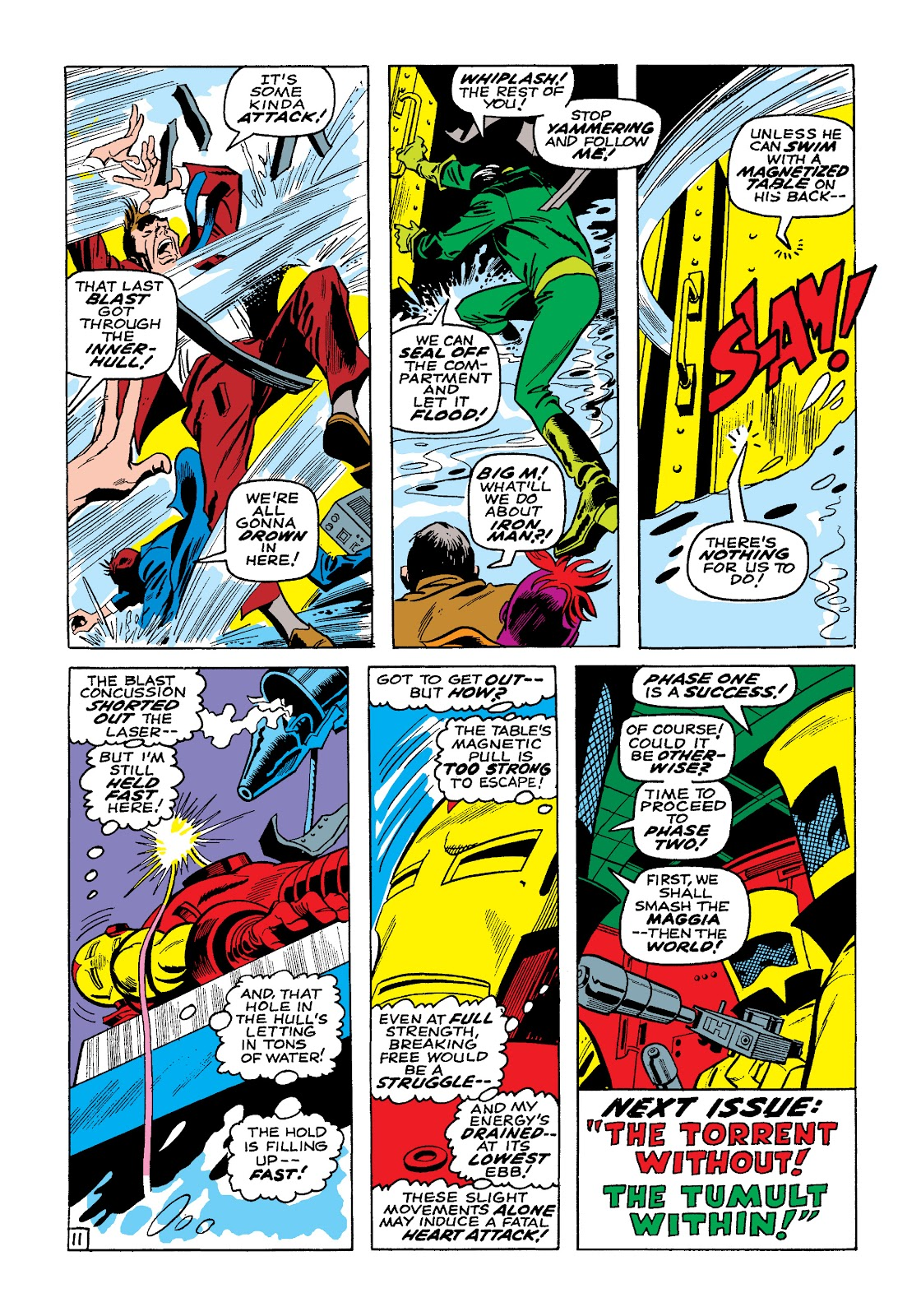 Read online Marvel Masterworks: The Invincible Iron Man comic -  Issue # TPB 4 (Part 3) - 11