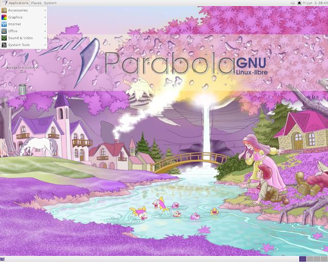 Lançado o Parabola GNU/Linux-libre, baseada no ArchLinux e totalmente livre, faça o download!