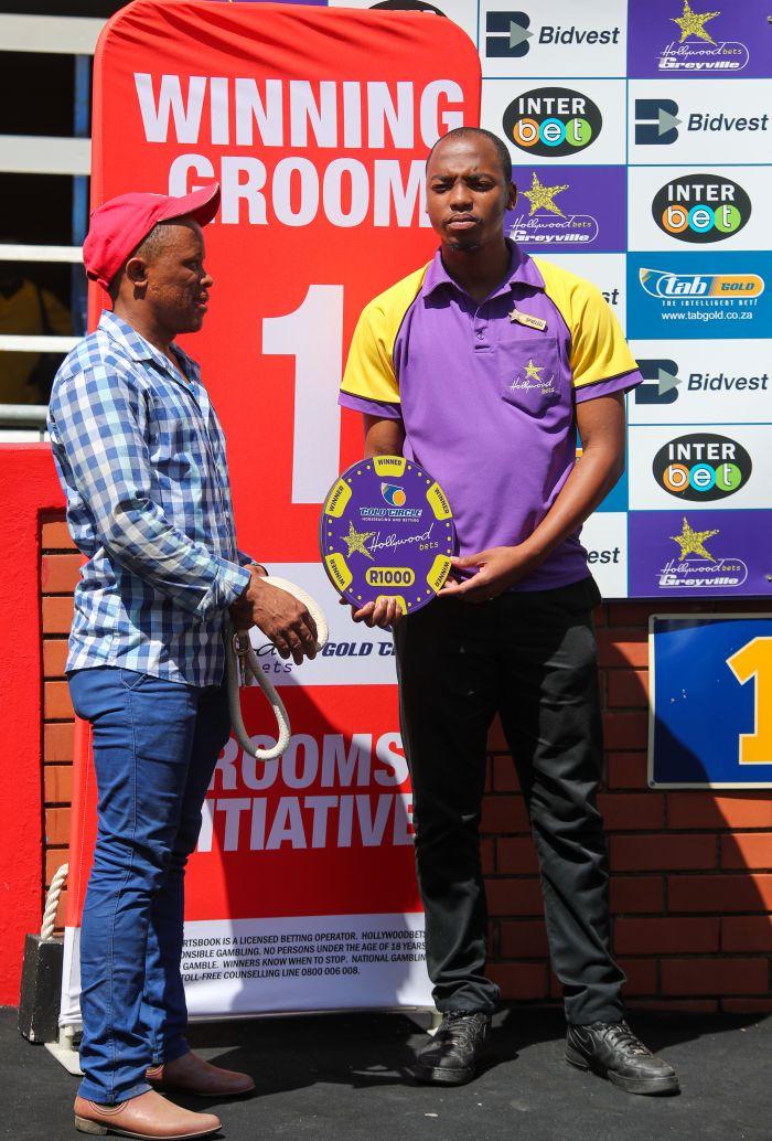 Grooms' Initiative Winners - 12th January 2020 - Race 3 - Afrika Ncumbesi - AFRICAN SUNRISE