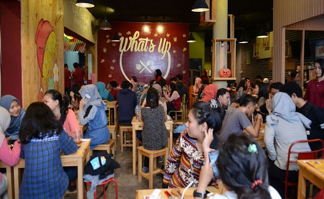 Nikmati Varian Menu Indomie di Whats Up Cafe Depok