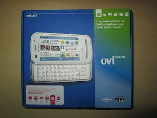 Nokia C6-00 baru