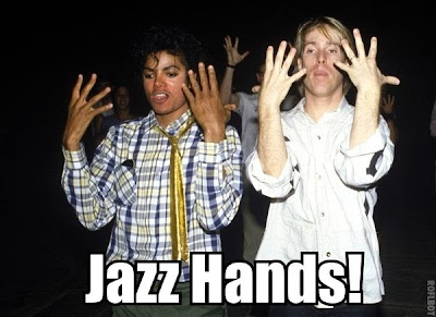 Michael Jackson Jazz Hands Meme