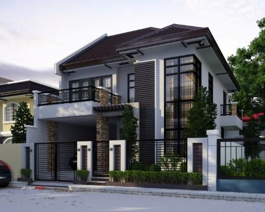 Foto Rumah Minimalis 2 Lantai Modern Terbaru 2018 Sikut Dewa