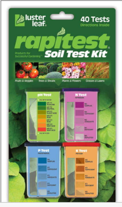 The most reliable agricultural blog test your soil ph for Soil nutrient test kit