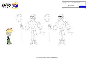 david gagnon's art show: king design for johnny test season 5