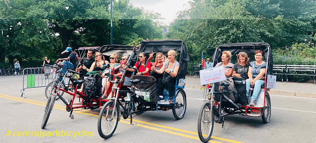 Central Park Pedicab Tours @CentralParkBicycles