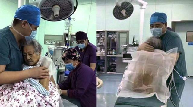 Peluk Pasien 102 Tahun, Dokter Bedah Bikin Netizen Nangis Bombay