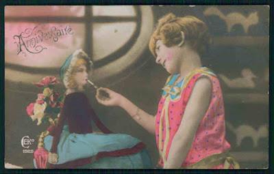 http://www.ebay.com/itm/Child-girl-light-cigarette-to-smoking-Doll-original-old-1920s-photo-postcard-/311516254540?hash=item4887d0d14c:g:xf0AAOSwJkJWhqyL
