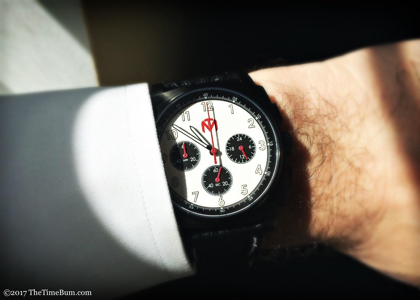 McDowell Time Sonoma prototype wrist