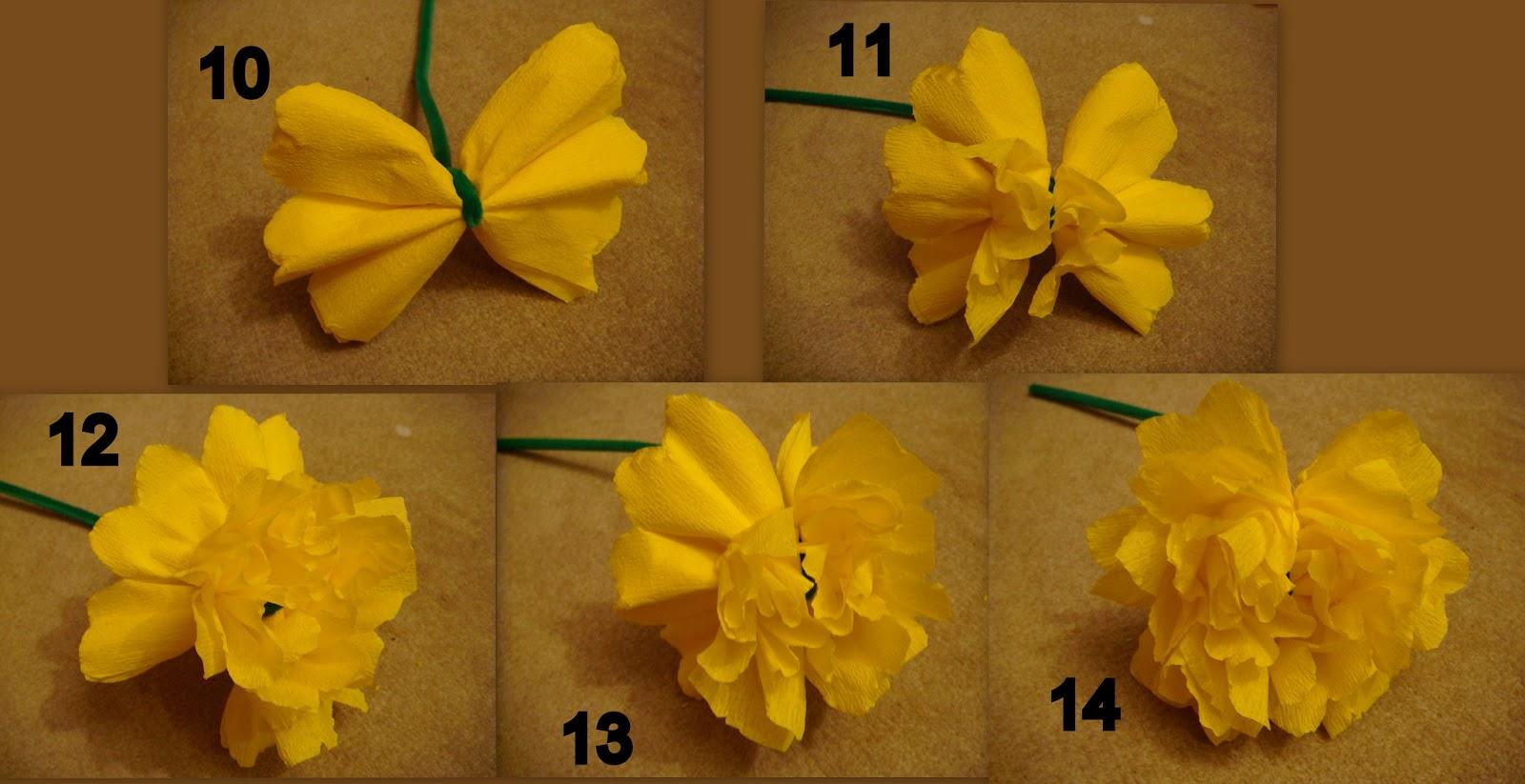 DIY spécial fête des mères   un bouquet de fleurs en papier aa91c387dc0