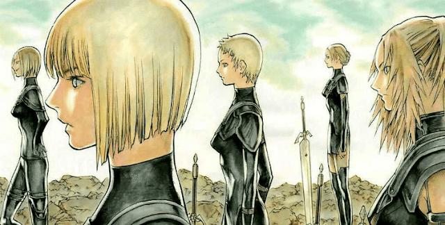 Claymore Manga, Katil Kızlar, En İyi Seinen Manga