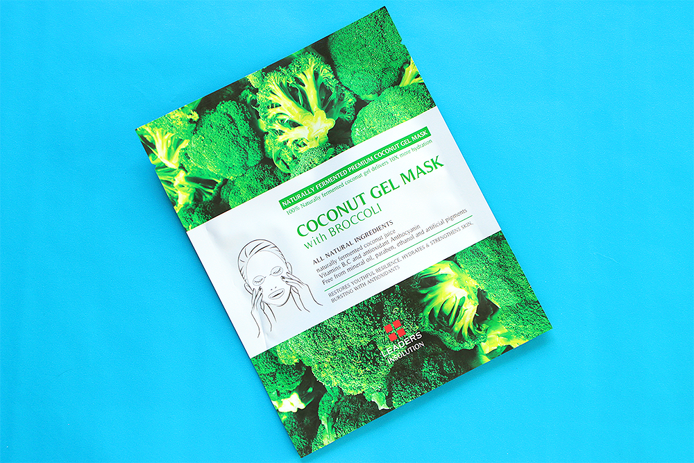 Leaders Insolution Superfood Coconut Gel Broccoli Mask review