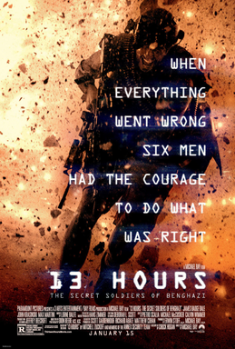 Sinopsis Film 13 Hours: The Secret Soldiers of Benghazi