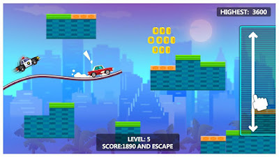 Sky Escape – Car Chase Apk for Android