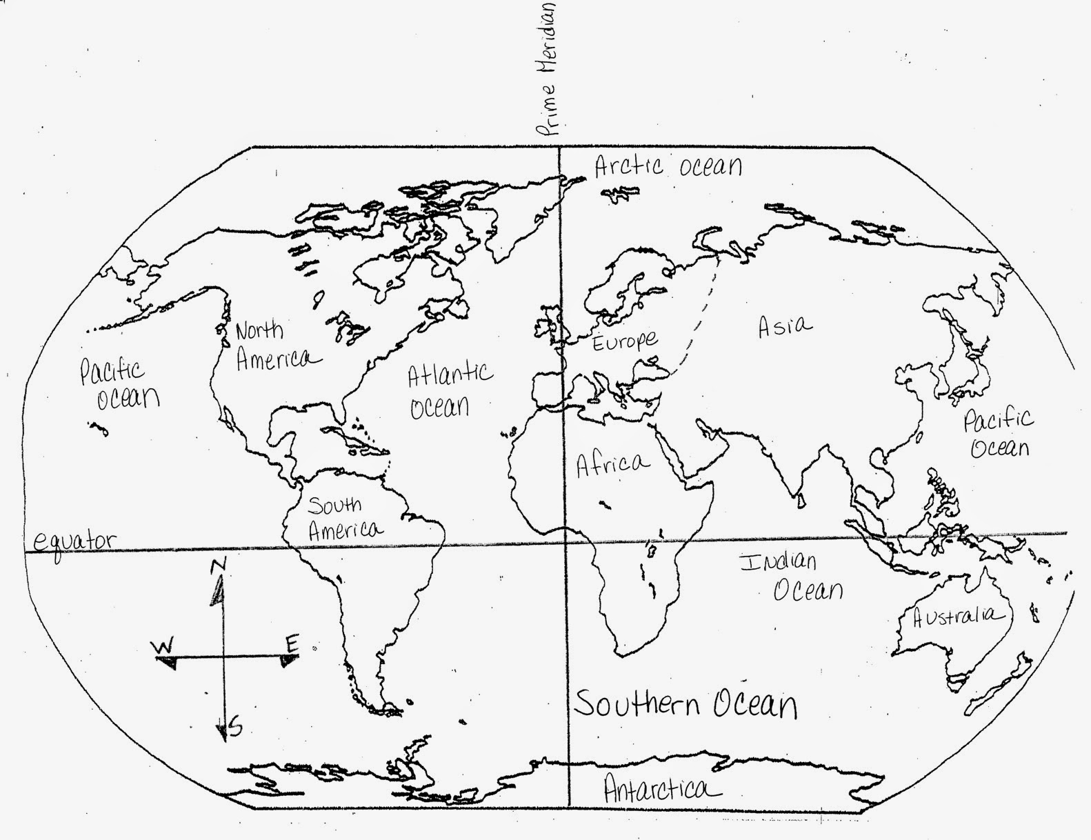 7 Continents 5 Oceans Shows Of College Location