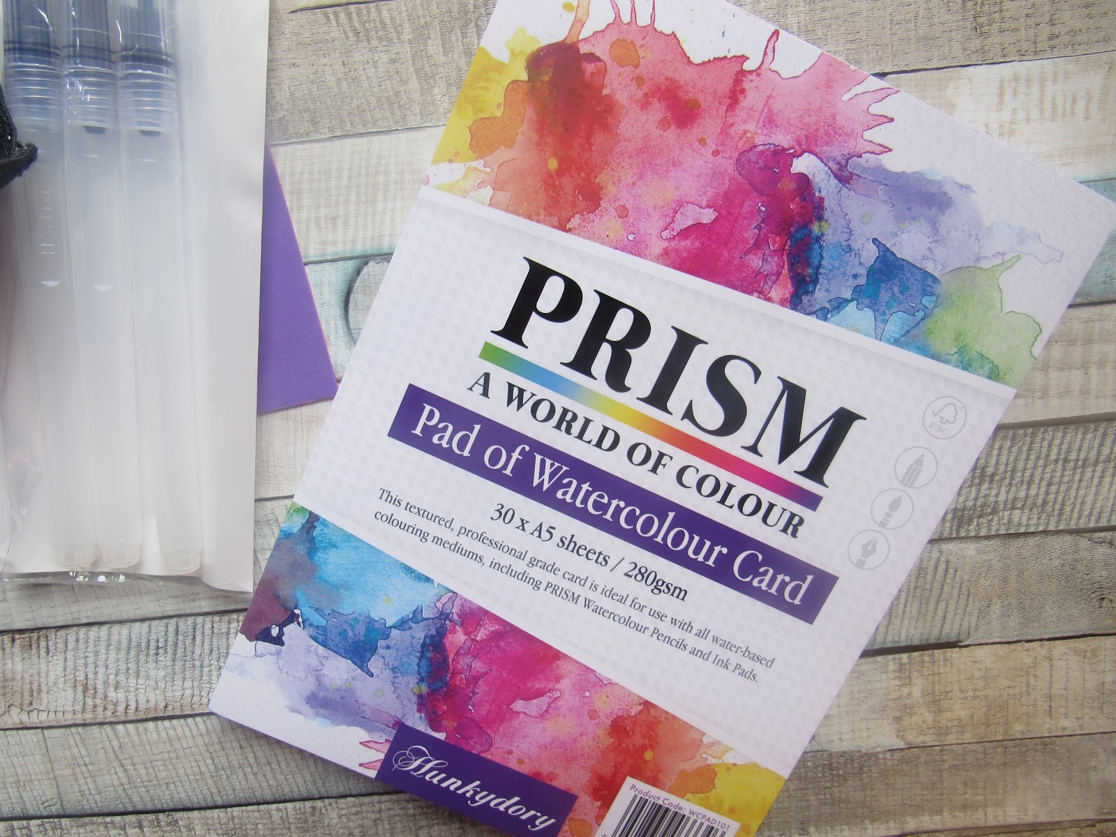 Hunkydory Prism Watercolour Pad