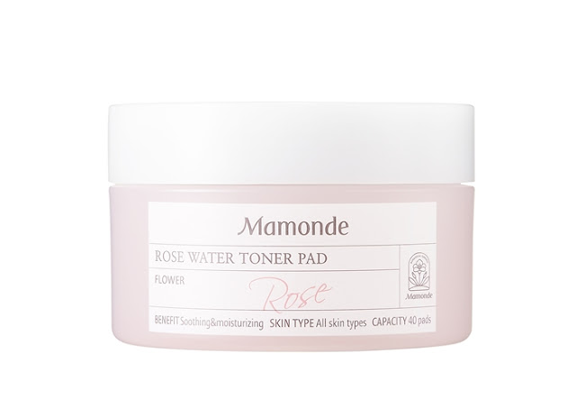 Mamonde Rose Water Line, Floral Goodness, Damask Rose, Toner Pad