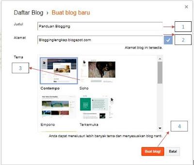 Panduan Blogging: Tutorial Blog Lengkap, Membuat Blog Khusus Pemula