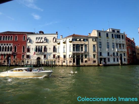Paseo en vaporetto por el Gran Canal de Venecia