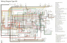 Diagram On Wiring Porsche Type 912 Complete Electrical Wiring Diagram