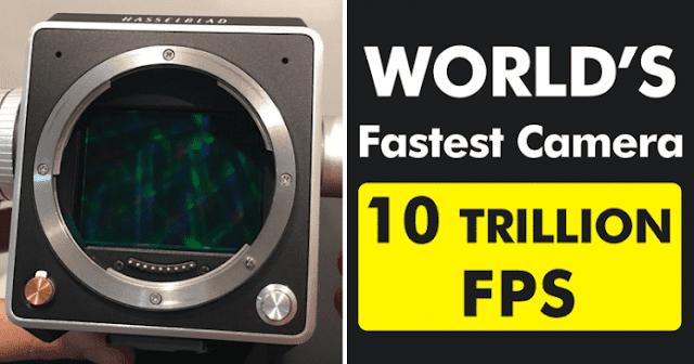 Câmera mais rápida do mundo vê luz em câmera lenta (VIDEO)