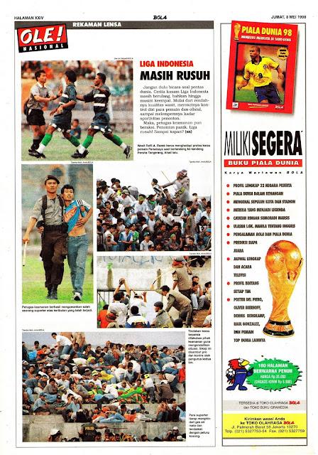 LIGA INDONESIA MASIH RUSUH
