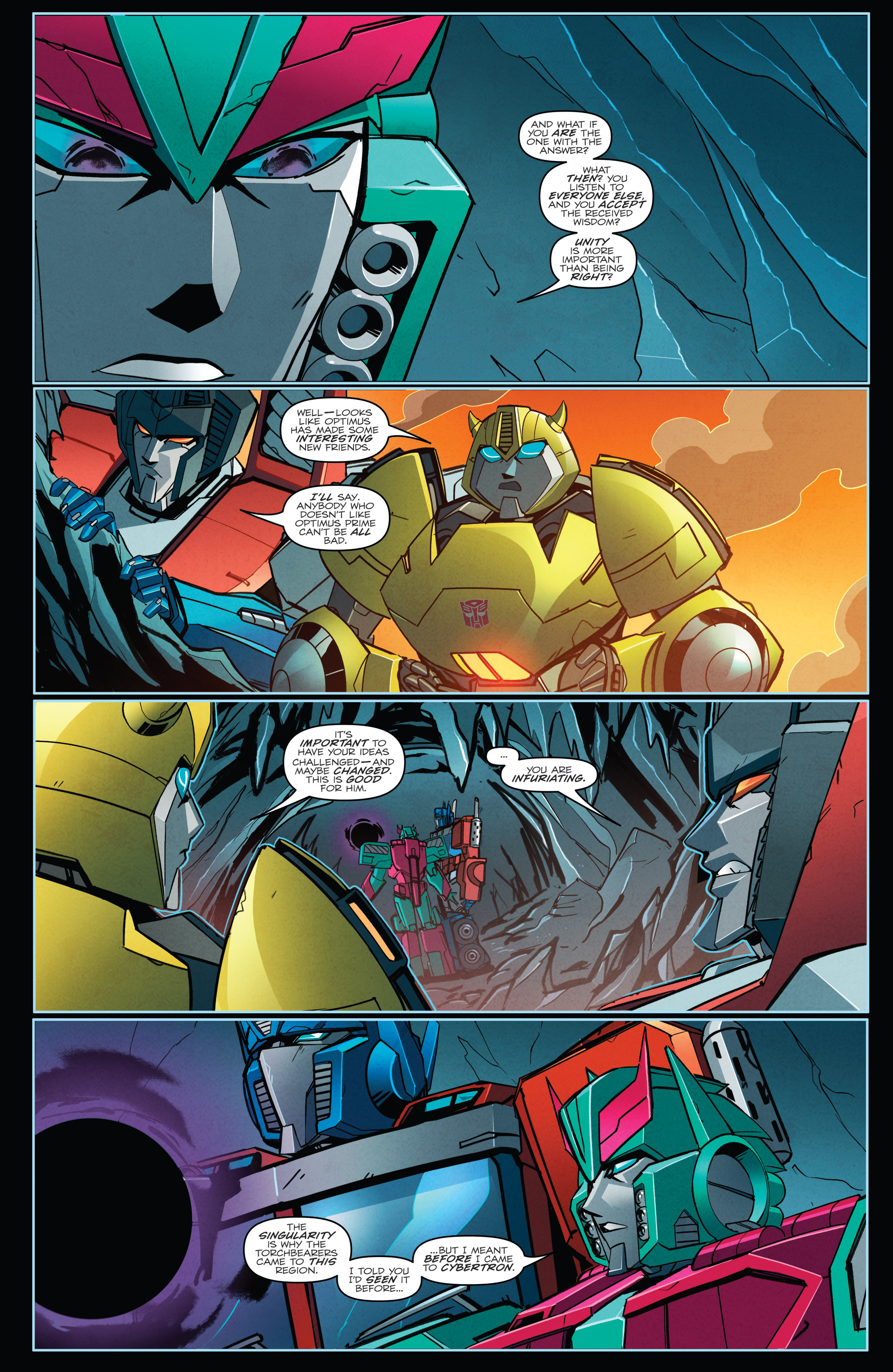 Read online Transformers Annual comic -  Issue # Full - 23
