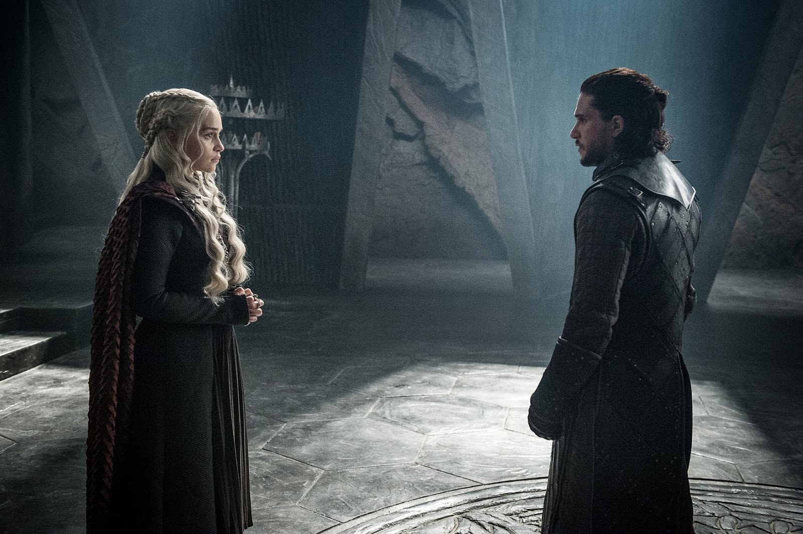 Juego de Tronos 7 - Daenerys Targaryen y Jon Snow