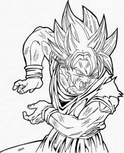Desenhos Para Colorir E Imprimir Desenhos Do Dragon Ball Z