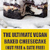 The Ultimate Vegan Baked Cheesecake (Nut Free & Date Free)