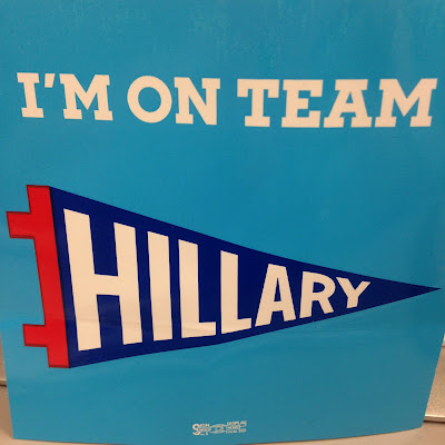 I'm on Team Hillary Sticker from Hillary Clinton for President, 2016