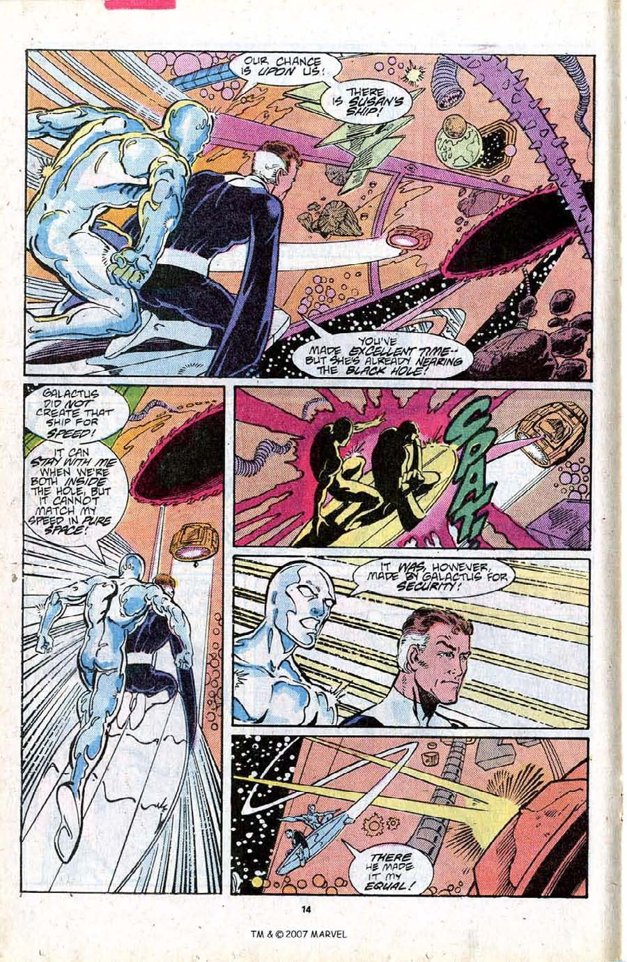 Read online Silver Surfer (1987) comic -  Issue #16 - 16
