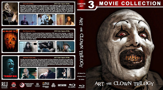 Art the Clown Trilogy Bluray Cover