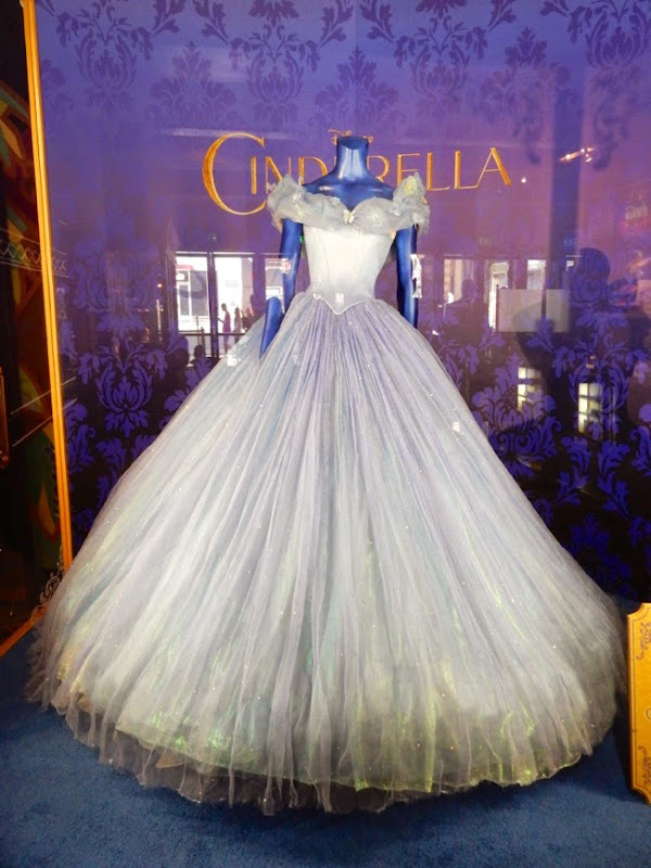 Lily James Cinderella movie ball gown
