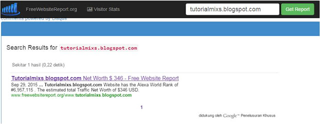 FreeWebsiteReport Tutorialmixs