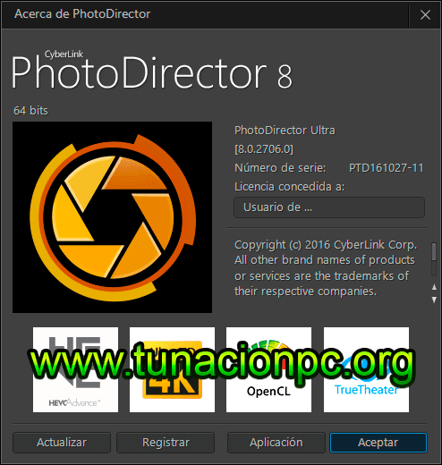 CyberLink PhotoDirector Ultra Imagen