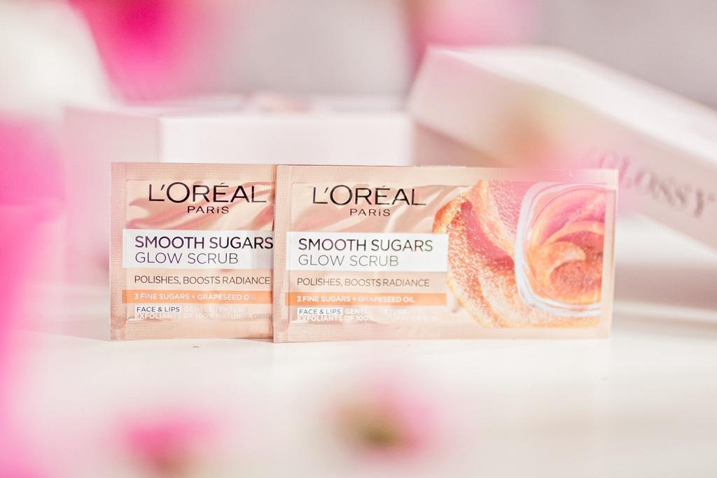 beGLOSSY Beauty Around The World  kwiecień 2018 - L'oreal Sugar Scrubs