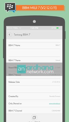 Preview BBM Miui 7 V2.12.0.11