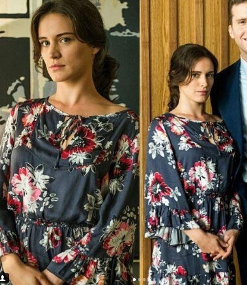 Clara vestido estampado