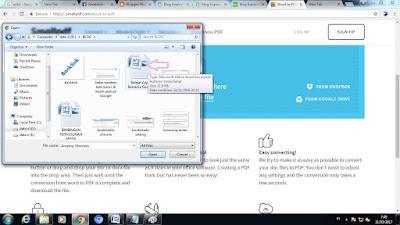 Mengubah File Word Menjadi PDF Secara Online