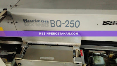 Mesin Lem Panas Horizon BQ 250
