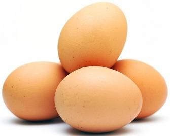 Foto de huevos comerciales