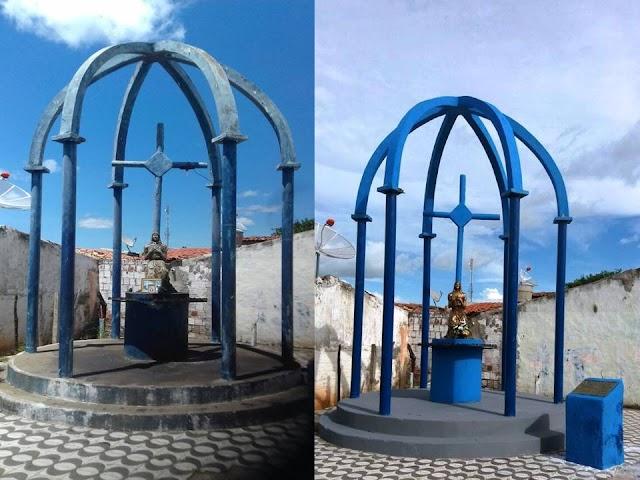 """Prefeito Lielson Landim autoriza restauração do monumento da """"Cruz da Menina"""""""