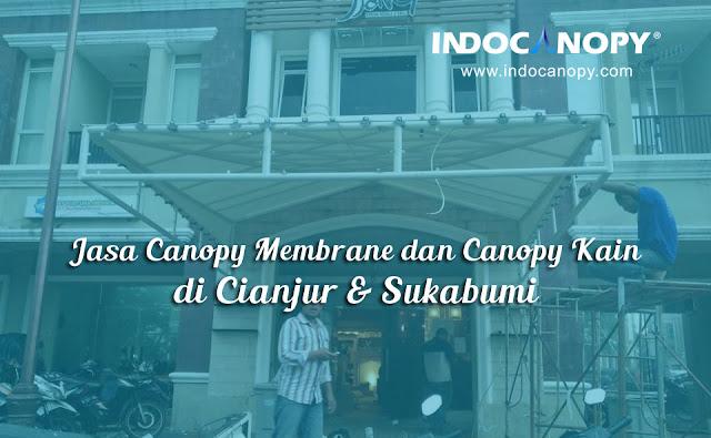 jasa canopy kain cianjur sukabumi