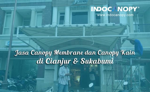 canopy membrane cianjur sukabumi