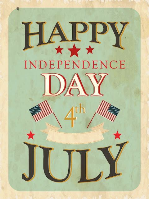 Happy Independence Day from Walking on Sunshine Recipes