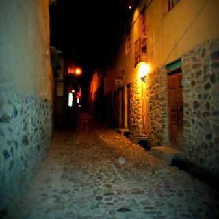 Uma das Belas Ruas do Povoado de Ollantaytambo
