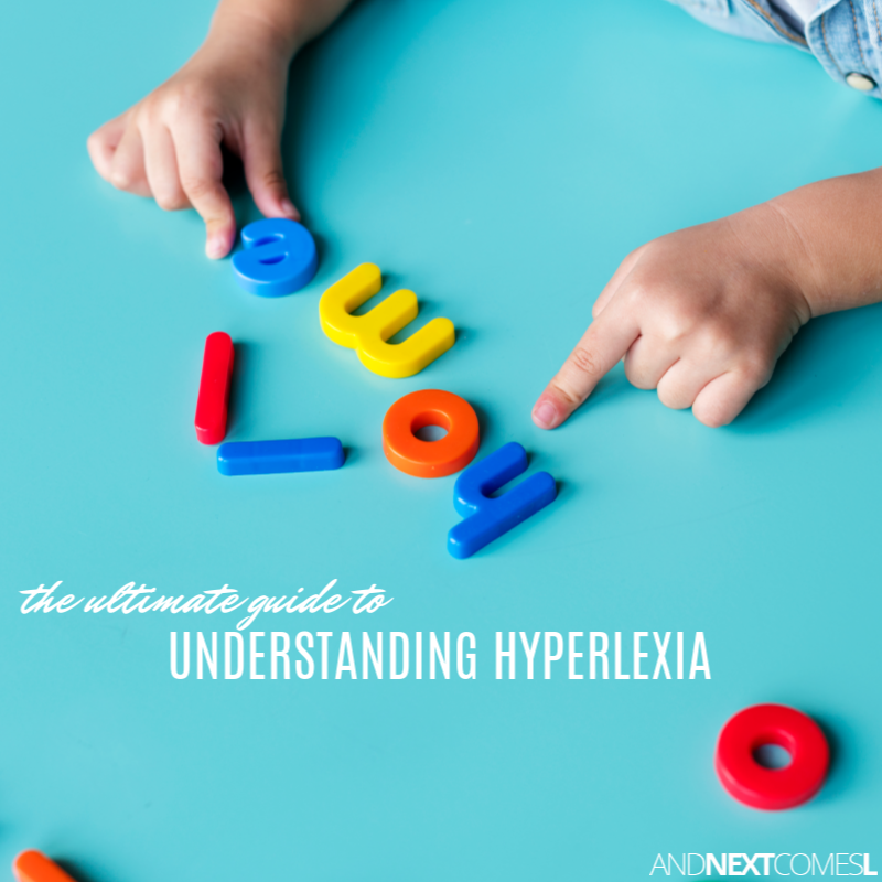 Whats In Label In Special Ed Words >> What Is Hyperlexia And Next Comes L