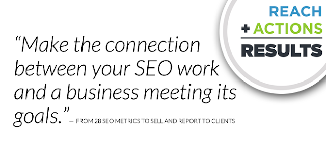 Make the connection between your SEO work and a business meeting its goals
